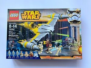 LEGO STAR WARS 75092 NABOO STARFIGHTER FACTORY SEALED PRIORITY SHIP