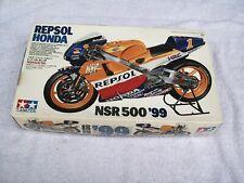 TAMIYA 1/12 REPSOL HONDA NSR500 '99  MOTORCYCLE MODEL KIT NO.77 - 14077