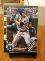 2019 1ST BOWMAN BREWER HICKLEN CAMO PARALLEL KANSAS CITY ROYALS CARD# BP-72