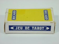 Tarot French Card Game ''Jeu de Tarot Ricard''  78 Cards Complete w/ French Inst