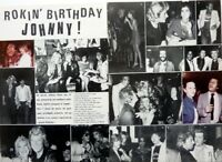 Anniversaire JOHNNY HALLYDAY => coupure de presse 2 pages 1980 / CLIPPING