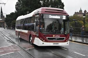 27 BT14 DKY Lothian Buses 6x4 Quality Bus Photograph