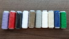 50m VERY STRONG LEATHER SEWING MACHINE THREAD 0.4mm THICK, for LEATHER  SEWING.