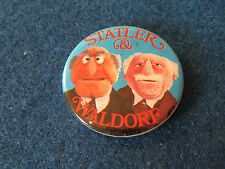 Vintage Badge - The Muppet Show - Statler & Waldorf