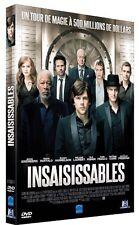 DVD *** INSAISISSABLES *** avec Morgan Freeman, Jesse Eisenberg ( neuf emballé )