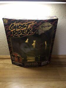 """Vintage Marvel Comics Ghost Rider Special Collectors Edition 12"""" Figure NIB"""