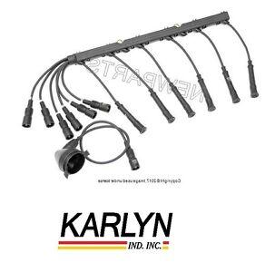 For BMW E28 528e E30 325 325e 325es Spark Plug Wire Set STI OEM