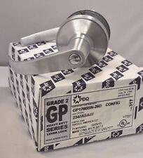 """PDQ Commercial Lockset  GP-176 PRIVACY 2 3/4"""" BACKSET BST ASA STRIKE SCHLAGE 26D"""