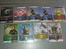 Final fantasy trading card game foil lot tyro gladiator Cid aulstyne exodus