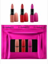 MAC Shiny Pretty Things Lipstick Set (3er Pack) ltd.Edition NEU&OVP