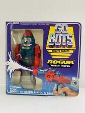 Gobots Rogun Water Pistol MIP MIB Arco Toys Transformers Go Bots 1984 Vintage