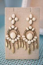 Stella & Dot Havana Chandelier Statement Earrings