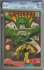 SPECTRE #7 CGC 9.4 WHITE PAGES