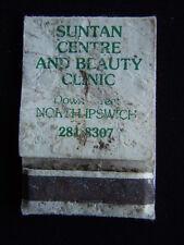 SUNTAN CENTRE BEAUTY CLINIC DOWN ST NORTH IPSWICH 2818307 MATCHBOOK
