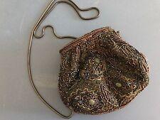 """Women's Vintage Purse Beaded Evening Clutch Shoulder Bag Purse 6.5 X 5.5"""""""