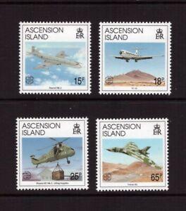 Ascension MNH 1992 Aviation/Liberation set mint stamps