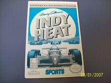 INDY HEAT NES 8 Bit Nintendo Vidpro Card