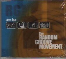 (AX56) The Random Groove Movement, When Love  - DJ CD