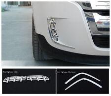 Ford Edge Se 2011 2012 2013 Chrome Front Fog Bumper Cover Molding Trim Bezel New