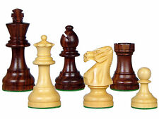 "Popular Staunton Rose Wood Chess Set Pieces 3"" Weighted 4 Queens House of Chess"
