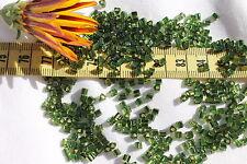 8/0 Triangle Toho Glass Seed Beads 10-Silver Lined Olivine 28 grams # 37