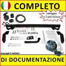 Gancio di traino fisso Fiat Doblo 2001-2010 + kit elettrico 7-poli rimorchio