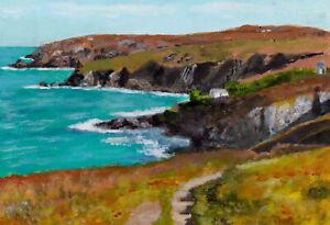 """Treen from Gurnards Head""   (Painted Outside)   Cornwall/Cornish art"
