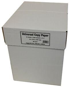 Kopierpapier 50000 Blatt Papier weiß Paper A4 für Laser InkJet Multifunktion 80g