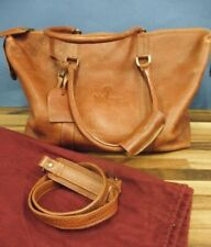 MULBERRY BROWN LEATHER GOOD QUALITY WEEKEND BAG HOLDALL EXCELLENT CONDITION