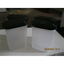 Tupperware-Large-4-piece-Spice-set-with-Black-Lids