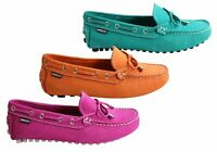 NEW ANDACCO DUNA WOMENS COMFORTABLE FLAT LEATHER LOAFERS MADE IN BRAZIL