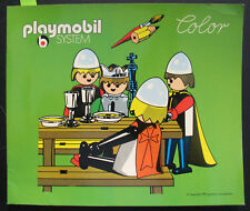 PLAYMOBIL COLOR-Chevalier Livre de coloriage peints-Knight Coloring Book 1975 influents