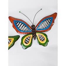Wanddeko Schmetterling WAVE B-WARE !!!!, Metall, bunt, 46x32 cm, Formano WA