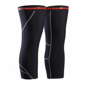 Bontrager Cycling Knee Warmer Warmers Black Warm Winter Cool Silicone Road MTB