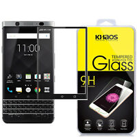 KHAOS Full Coverage Tempered Glass Screen Protector For Blackberry Keyone DTEK70