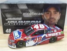 NEW 2016 Jimmie Johnson #48 Unraced Redvest Lowe's Action Lionel Diecast 1:24