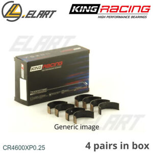 King Racing Big End Con Rod Bearings CR4600XP 0.25 For BMW-MINI 1.6 16V W11B16