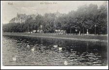 KIEL 1906 Partie am Kleinen Kiel Promenade Verlag Fritz Castogne alte Postkarte