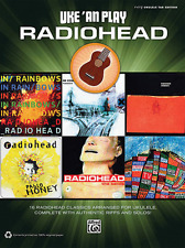 "UKE 'AN PLAY ""RADIOHEAD"" EASY UKULELE TAB EDITION MUSIC BOOK-BRAND NEW ON SALE!!"