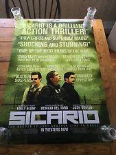 Sicario DS Theatrical Movie Poster. 27x40.