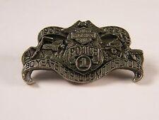 HARLEY DAVIDSON MOTORCYCLES 1908-1998 90 YEARS OF POLICE MOTORCYCLES PIN