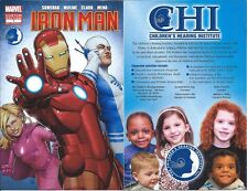 INVINCIBLE IRON MAN SOUND EFFECTS 1 RARE GIVEAWAY PROMO CHILDRENS HEARING NY EAR