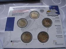 Stempelglanz BRD-Kursmünzensätze in Euro-Währung