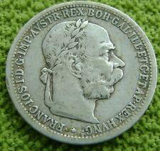 Oostenrijk - Austria 1 Corona 1893 - Silver - KM# 2804