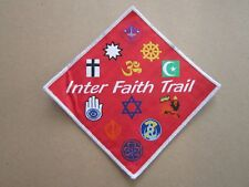 Inter Faith Trail Cloth Patch Badge Boy Scouts Scouting L4K B