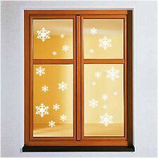 Fenstertattoo 22 Schneeflocken Aufkleber Sticker Winter Weihnachten Dekoration