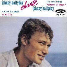 CD de musique album Johnny Hallyday EP