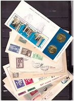 s19496) WORLDWIDE Postal History lot 12 covers (as per 5 scans)