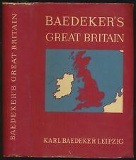 Karl Baedeker: Great Britain. Handbook for travellers (1937).