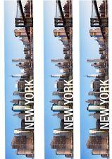 A4 Edible Decor Icing Sheet New York Skyline Ribbon Border for larger cakes